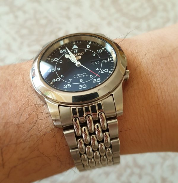 seiko 5 sapphire crystal and mod parts