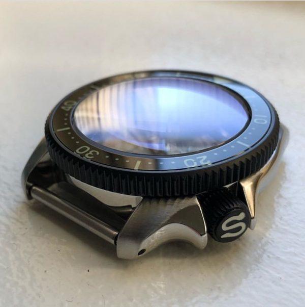 seiko modification replacement case
