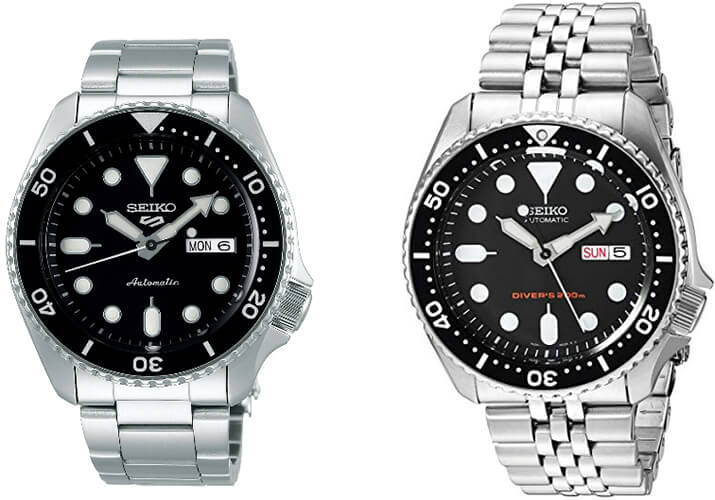 """Featured image for """"Seiko SKX vs. Seiko 5 Sports Divers. What's the Difference? – Part 1"""""""